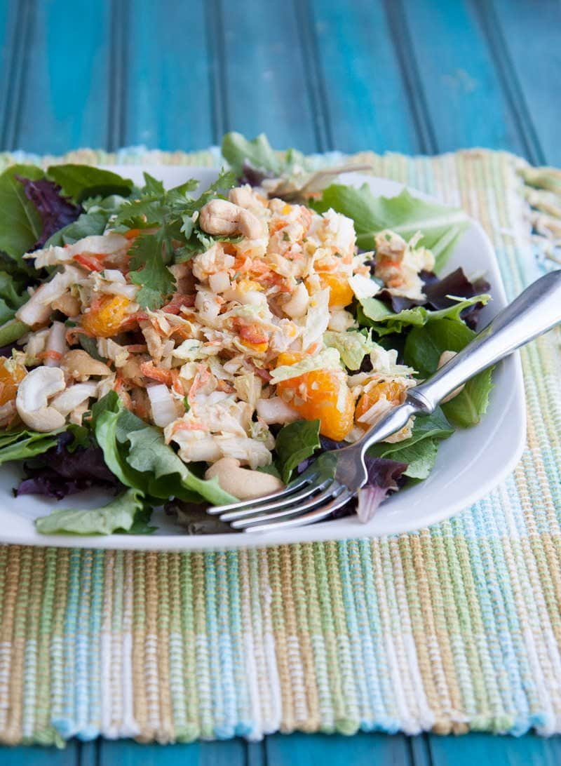 cashew chicken salad