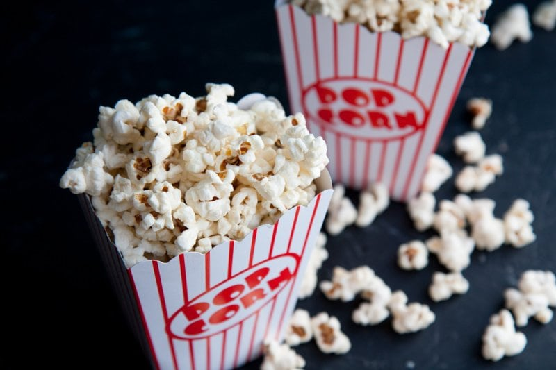 Movie style popcorn recipe