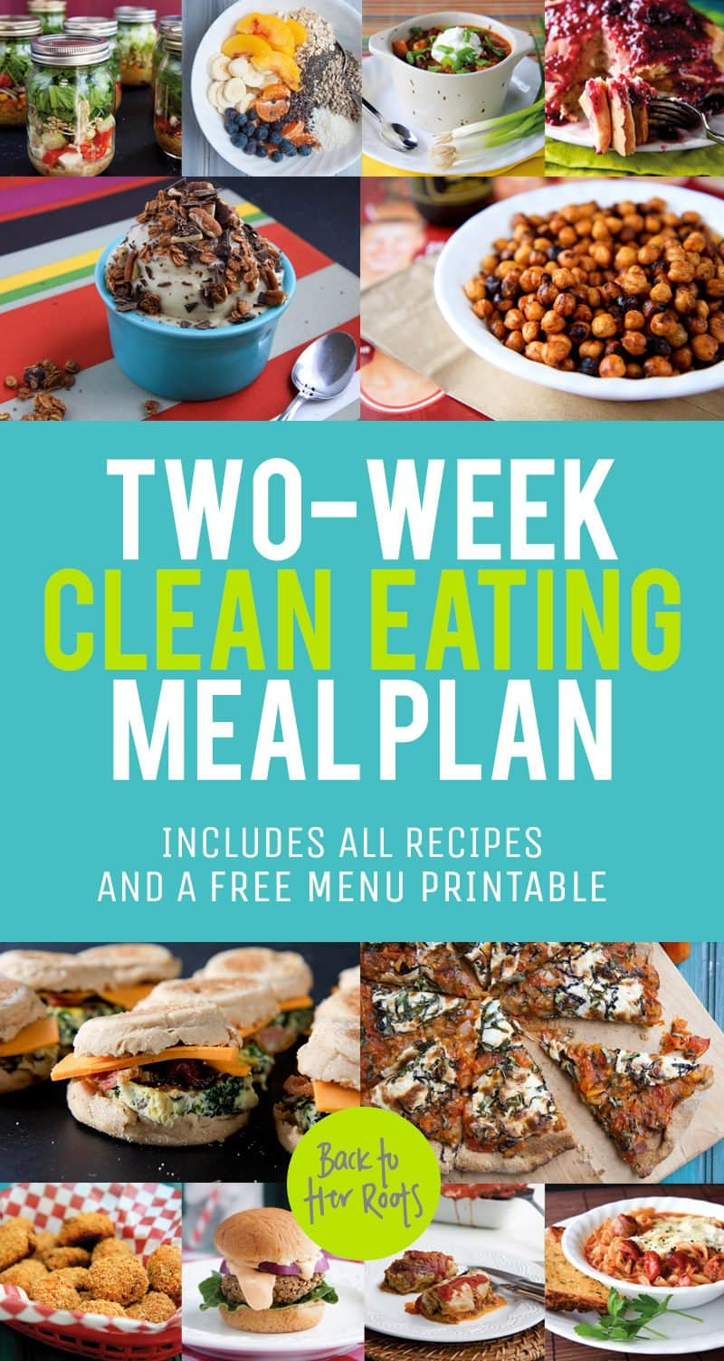 Two Week Clean Eating Meal Plan
