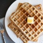 Honey Coconut Whole Wheat Waffles