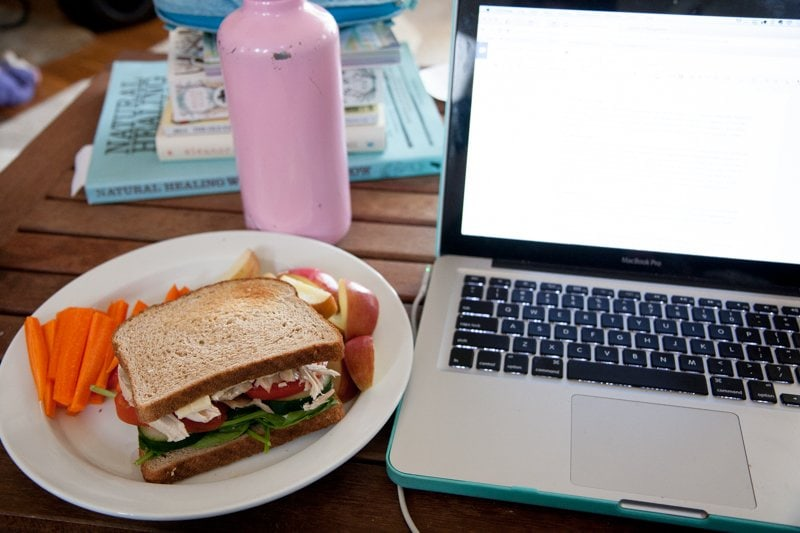 lunch laptop computer