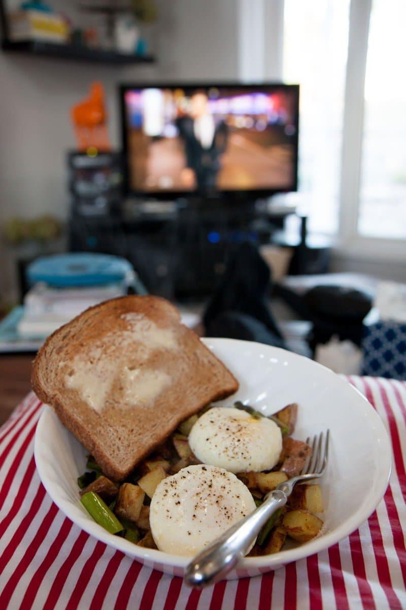 dinner tv hash
