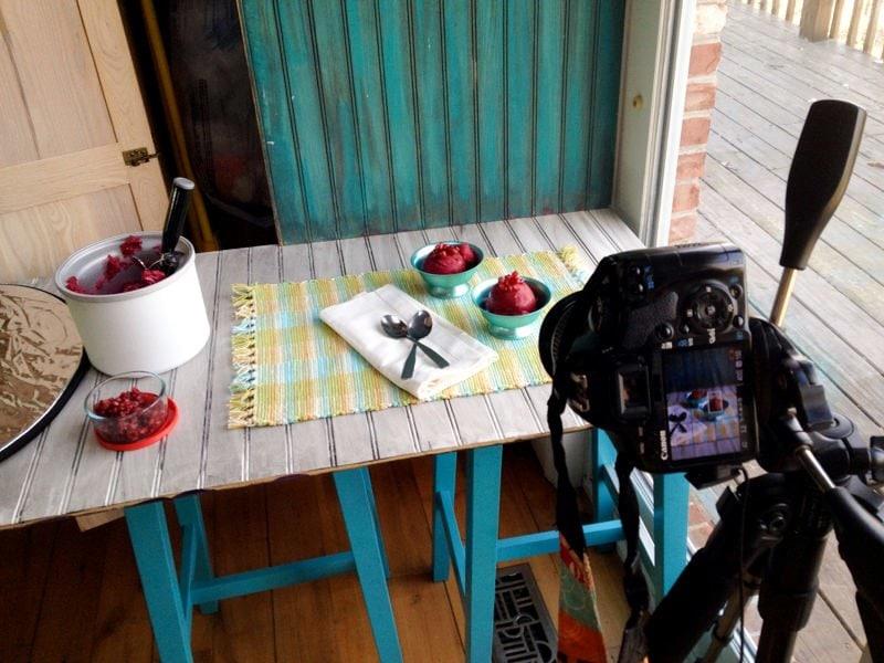food photography cookbook
