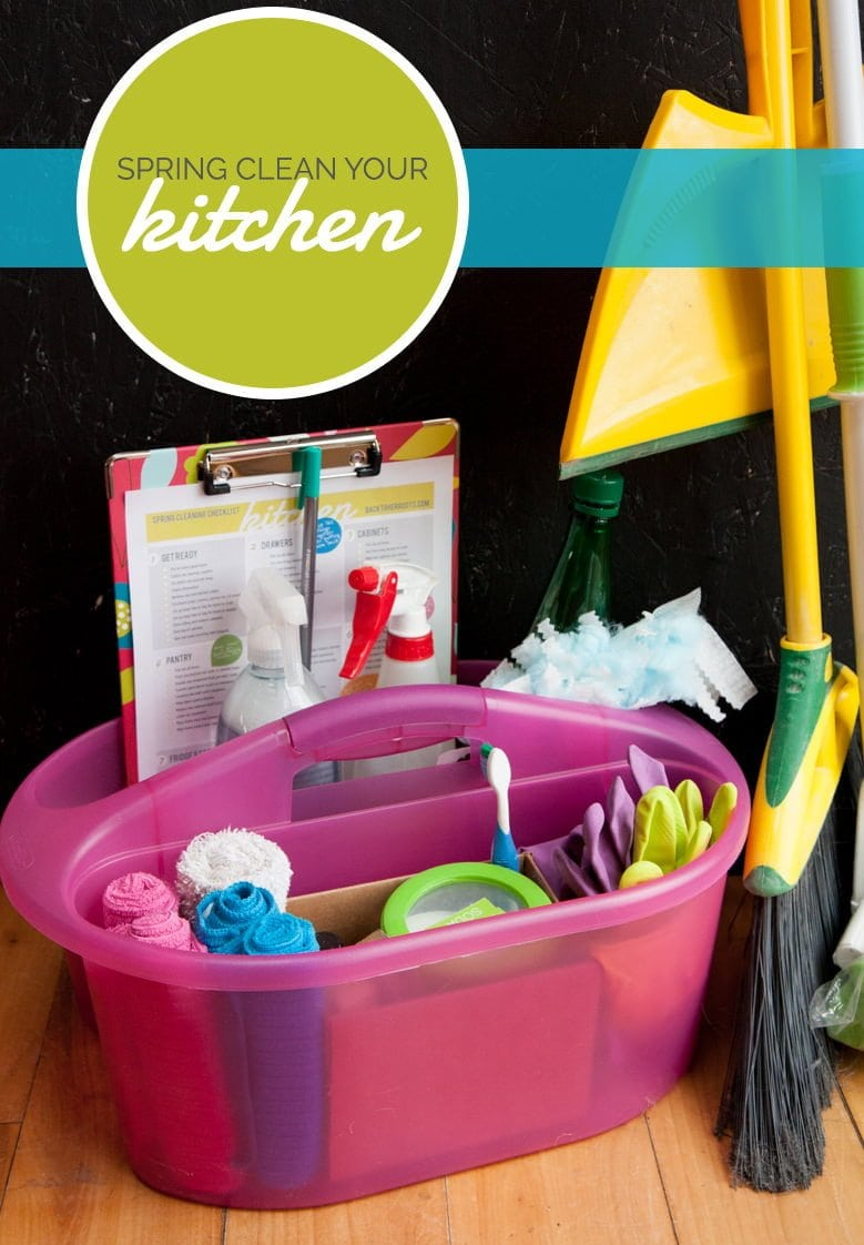 spring clean your kitchen