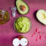Whipped Avocado, Honey and Olive Oil Hair Mask