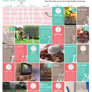 Wellness Calendar: May 2014 (free printable)