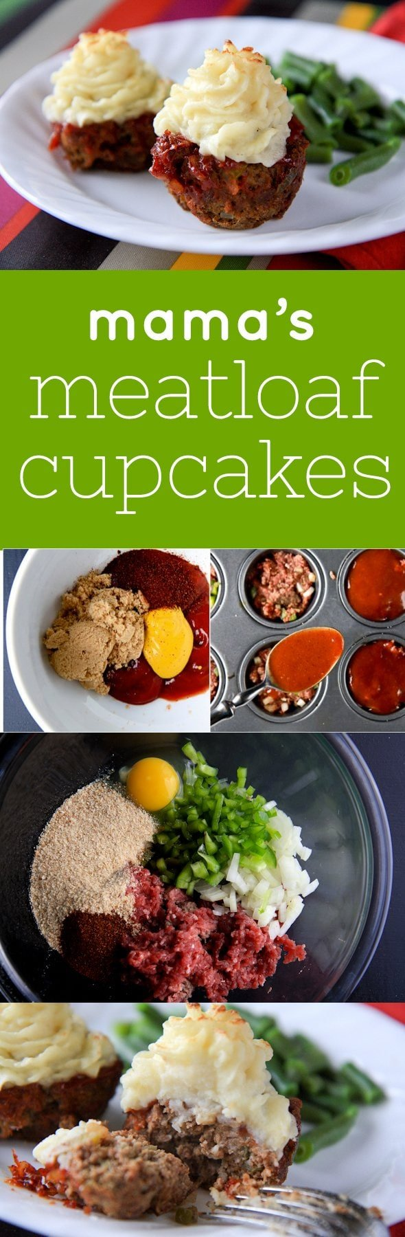 Mama's Meatloaf Cupcakes