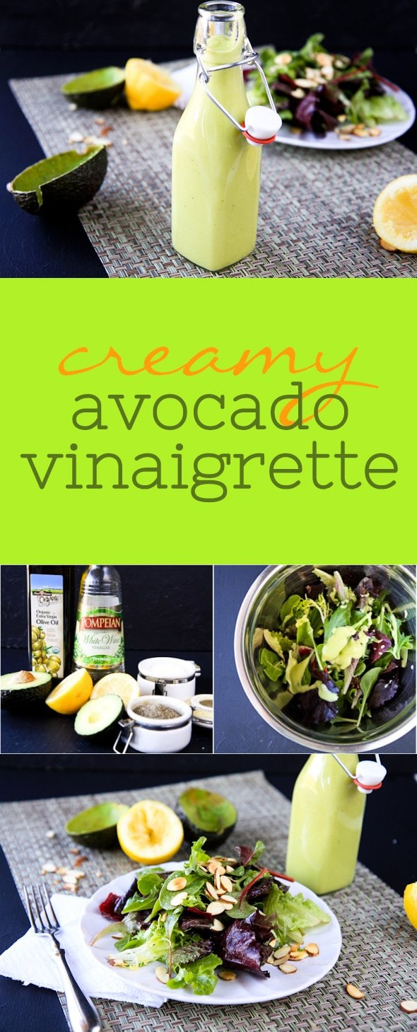 Creamy Avocado Vinaigrette