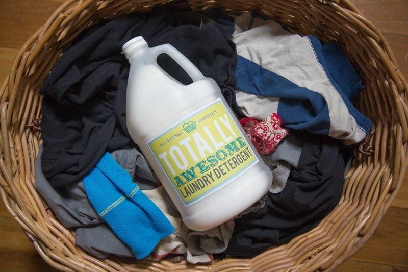 Homemade Borax Free Laundry Detergent Wholefully