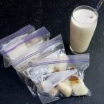 Coffee-Banana Smoothie Packs