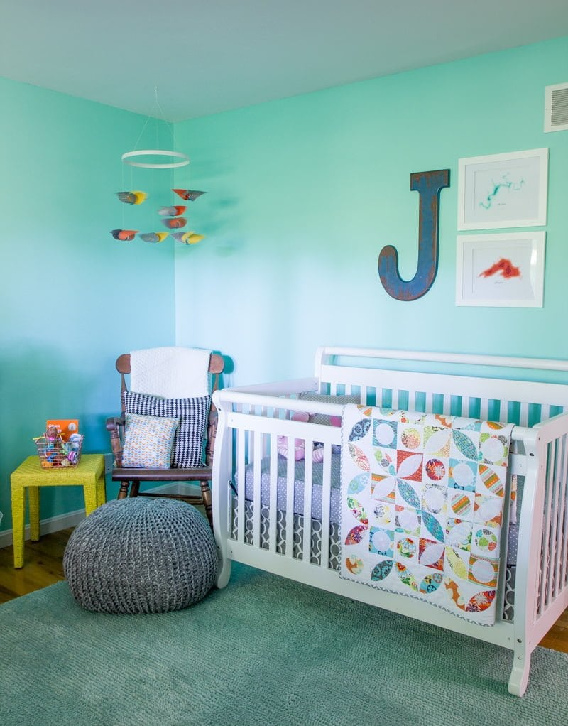 Now That Our Little Girl Is Here I Figured It Was Time To Give You Guys A Little Tour Of Her Nursery We Actually Managed To Finish The Nursery Only A Few