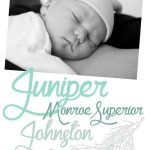 Welcome to the World, Baby J!