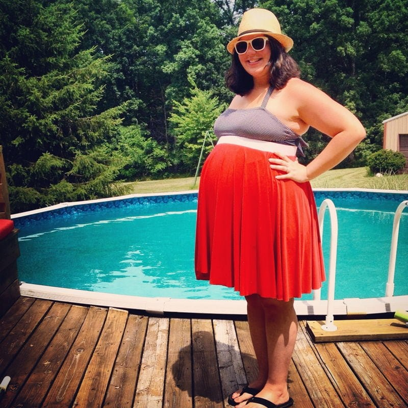 me pregnant pool