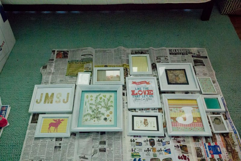 How to Do a Gallery Wall (for less than $20)