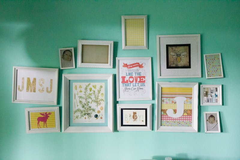 How To Do A Gallery Wall For Less Than 20