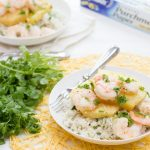 Shrimp and Pineapple Packets with Creamy Coconut-Cilantro Rice