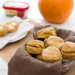 Pumpkin Spice Buttermilk Biscuits