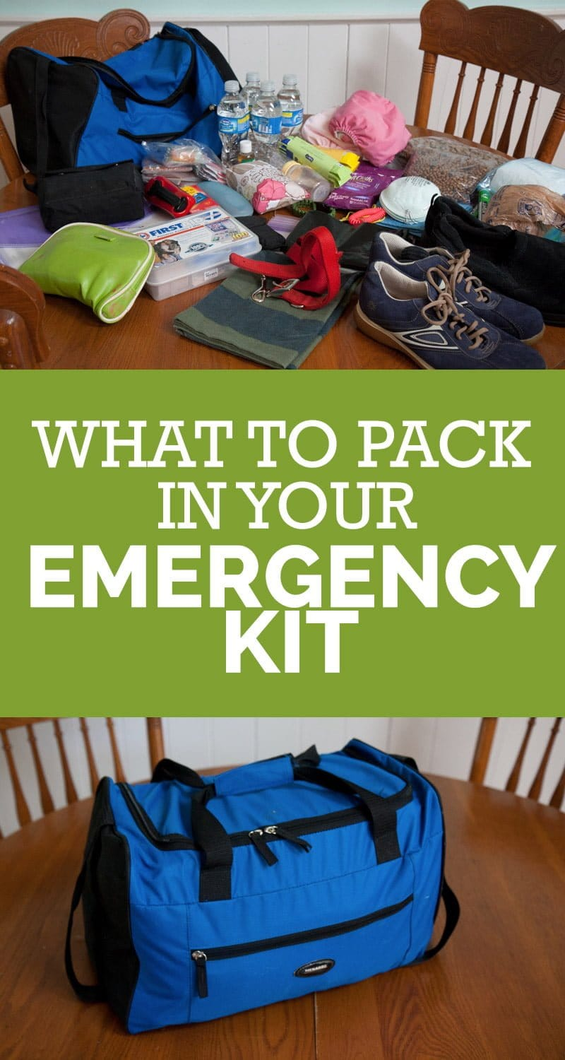 What to Pack in Your Emergency Kit/Jump Bag