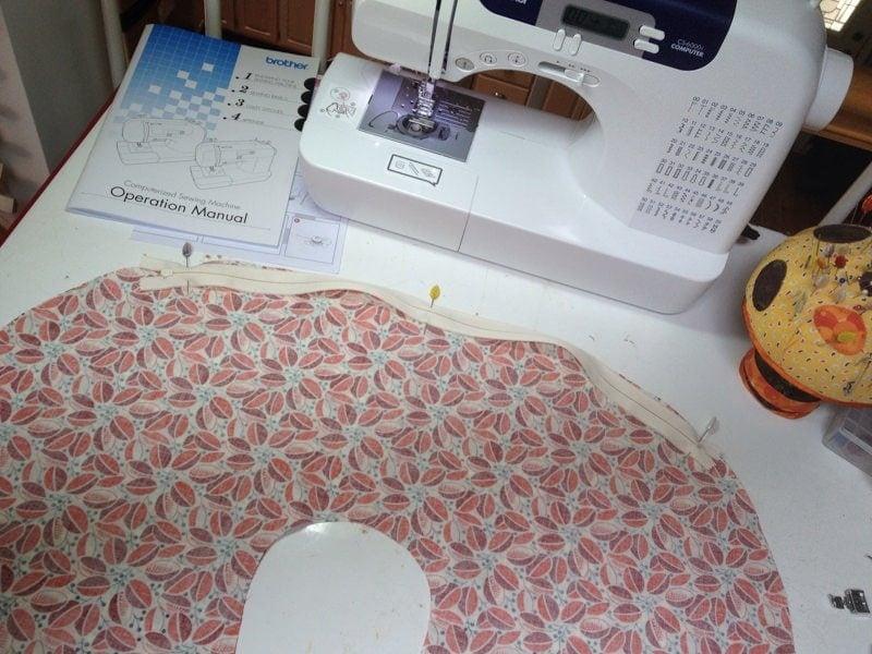 DIY Nursing Pillow and Cover