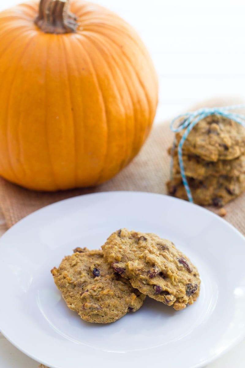 Oatmeal Pumpkin Breakfast Cookies