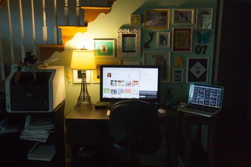 Computer on Deskg