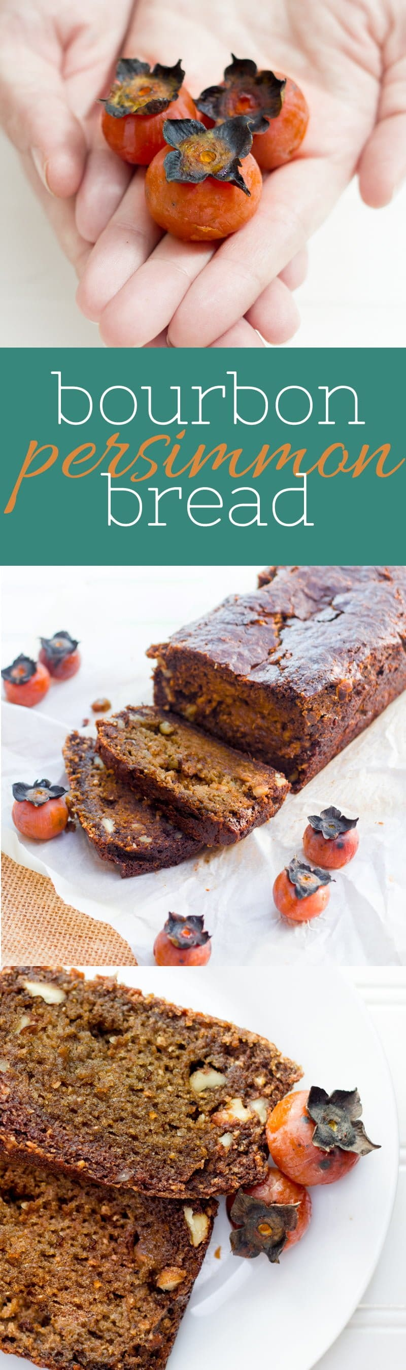 Bourbon Persimmon Bread - Back to Her Roots