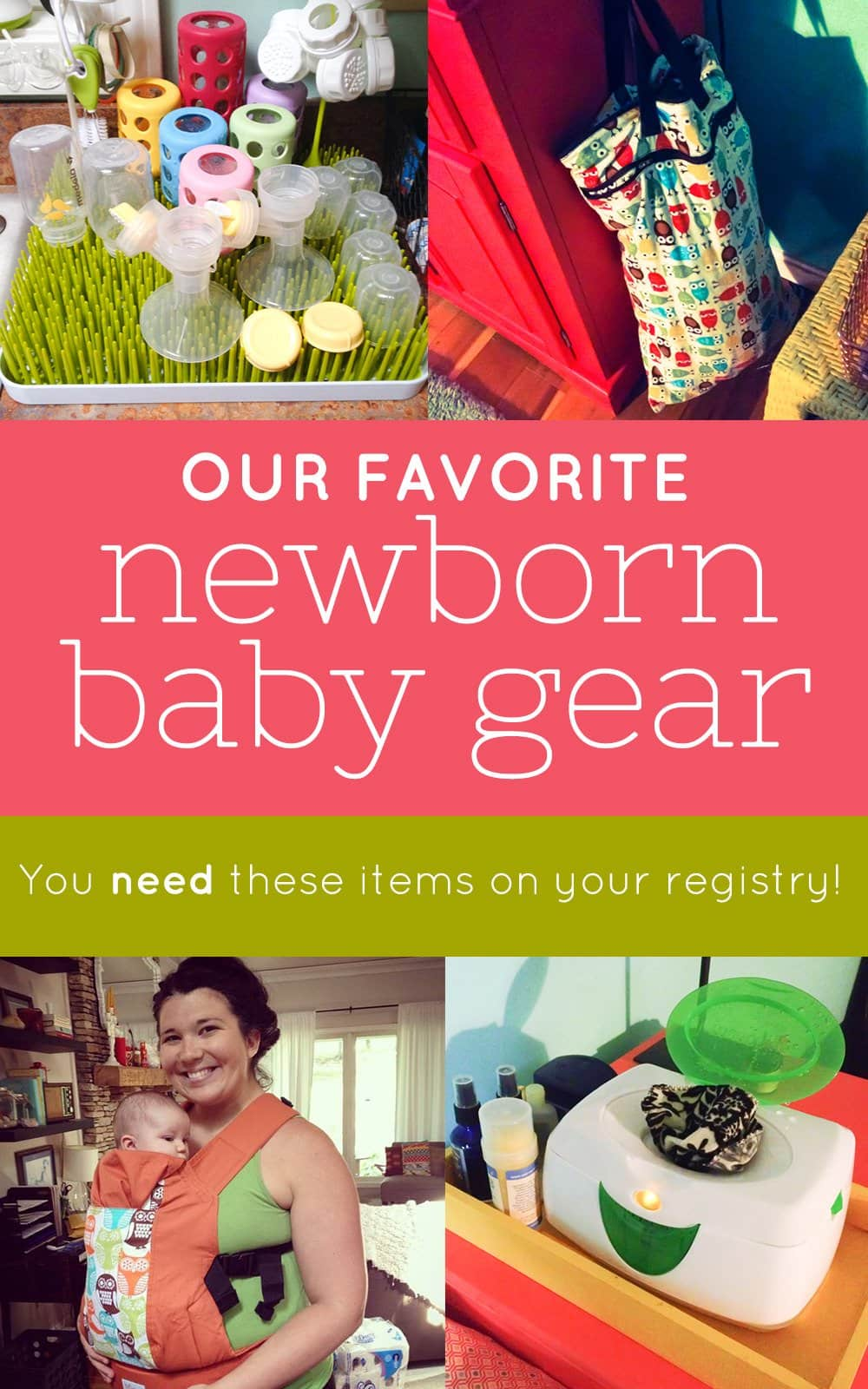 Our Favorite Newborn Baby Gear