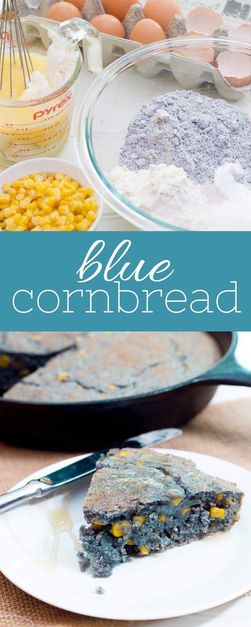 Blue Cornbread