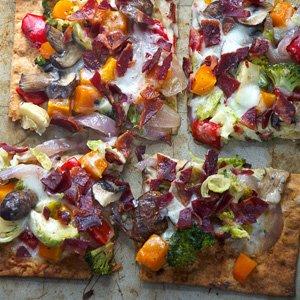 Maple Roasted Vegetable Flatbread