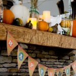 Printable Burlap Fall Bunting
