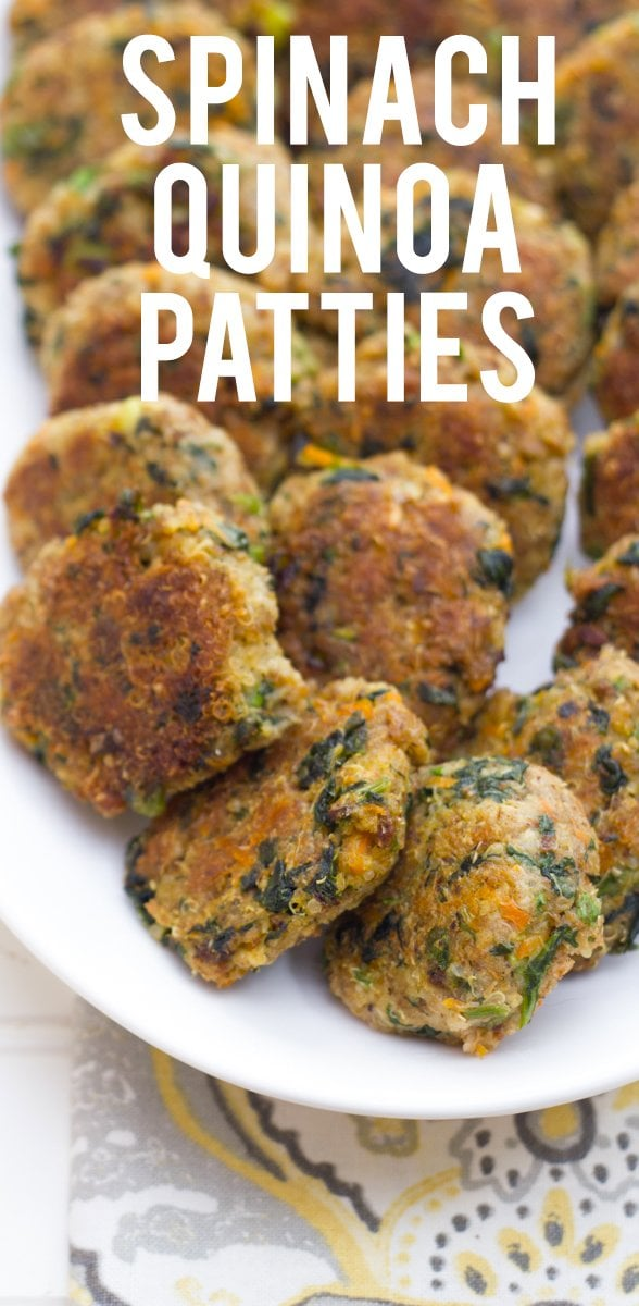 Spinach Quinoa Patties