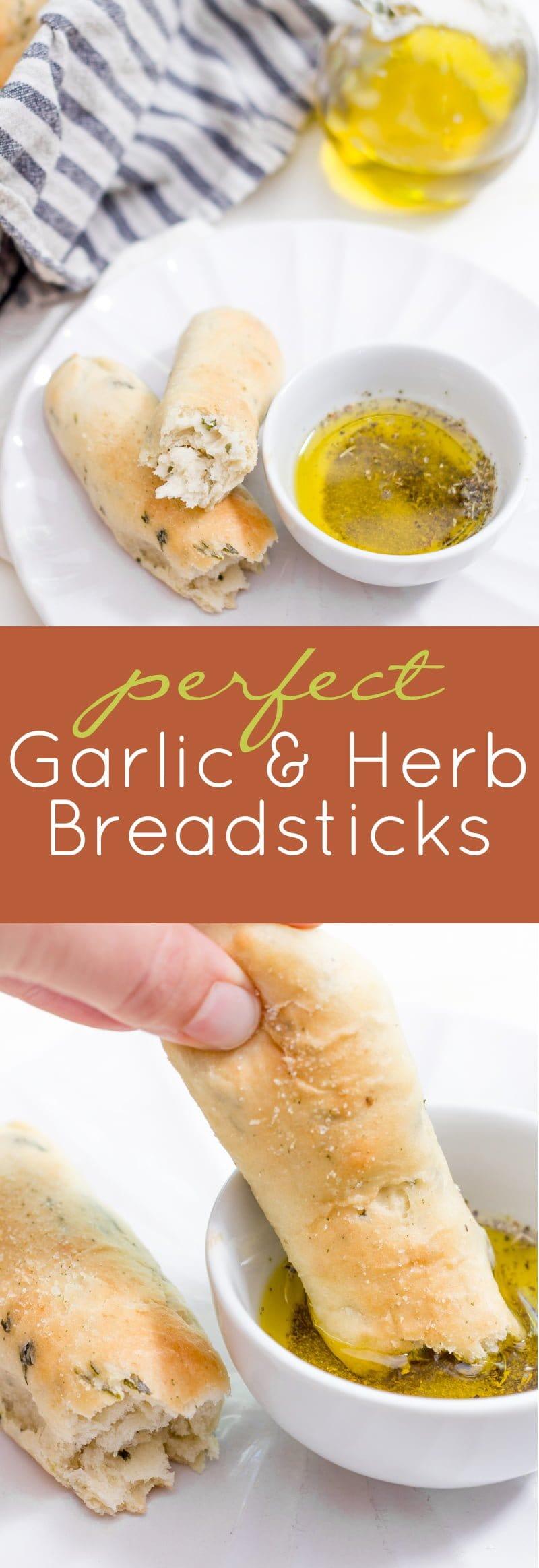 Garlic & Herb Breadsticks