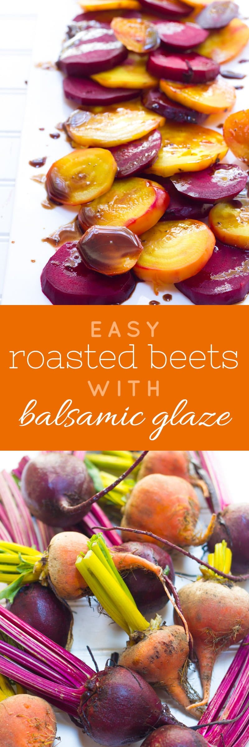 Roasted Beets with Balsamic Glaze - Back to Her Roots