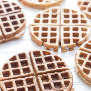 100% Whole Wheat Frozen Waffles
