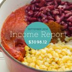 September 2014 Income Report — $3098.12