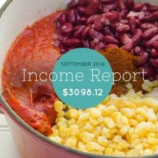 September Income Report