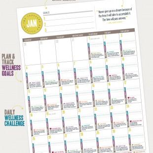 2015 Wellness Calendar