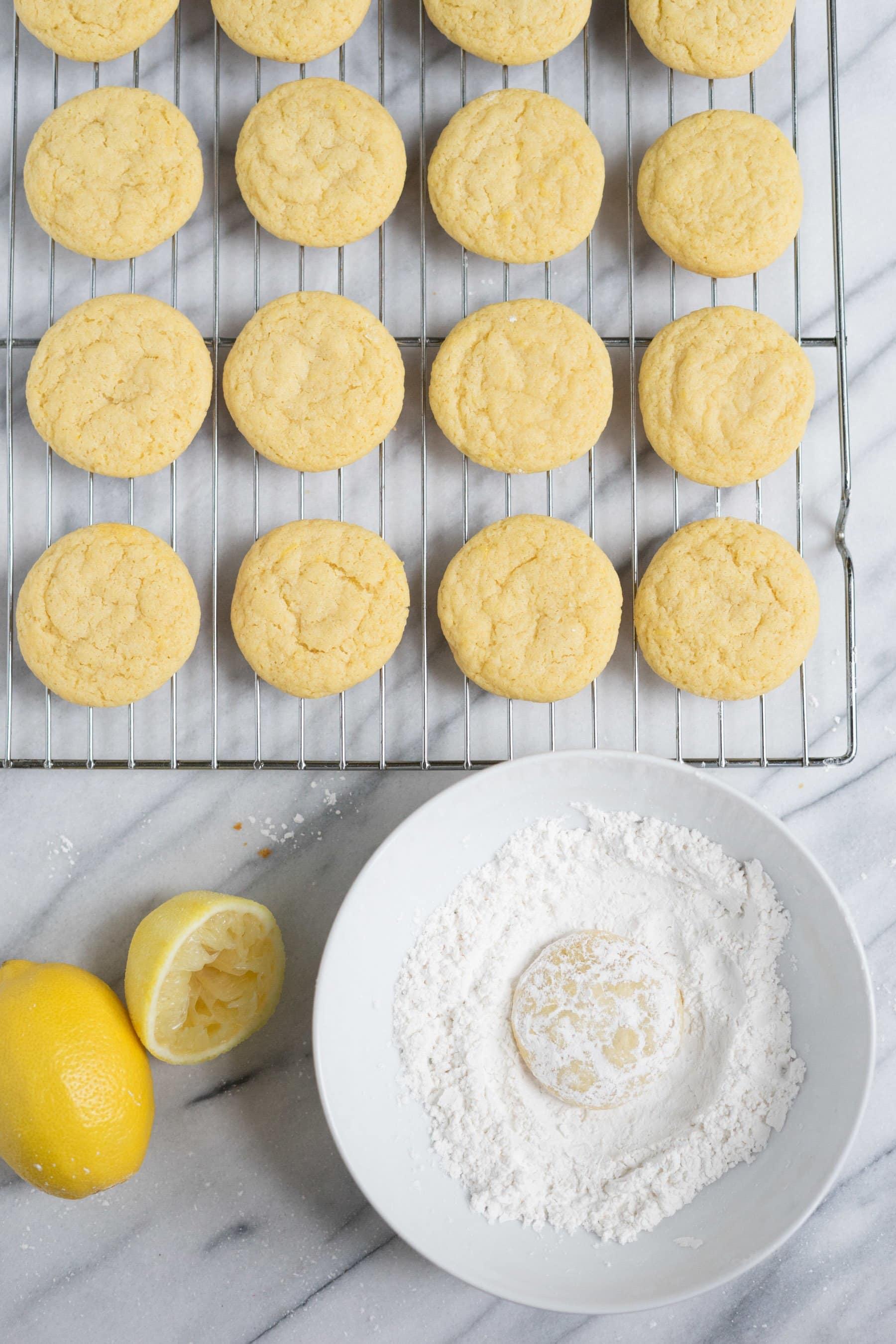 Chewy lemon Snowdrops