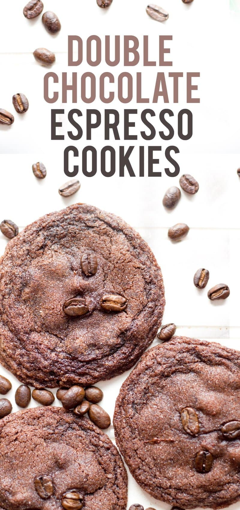 Chewy Double Chocolate Espresso Cookies - Back to Her Roots