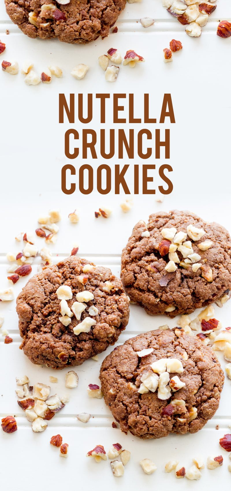 Nutella Crunch Cookies