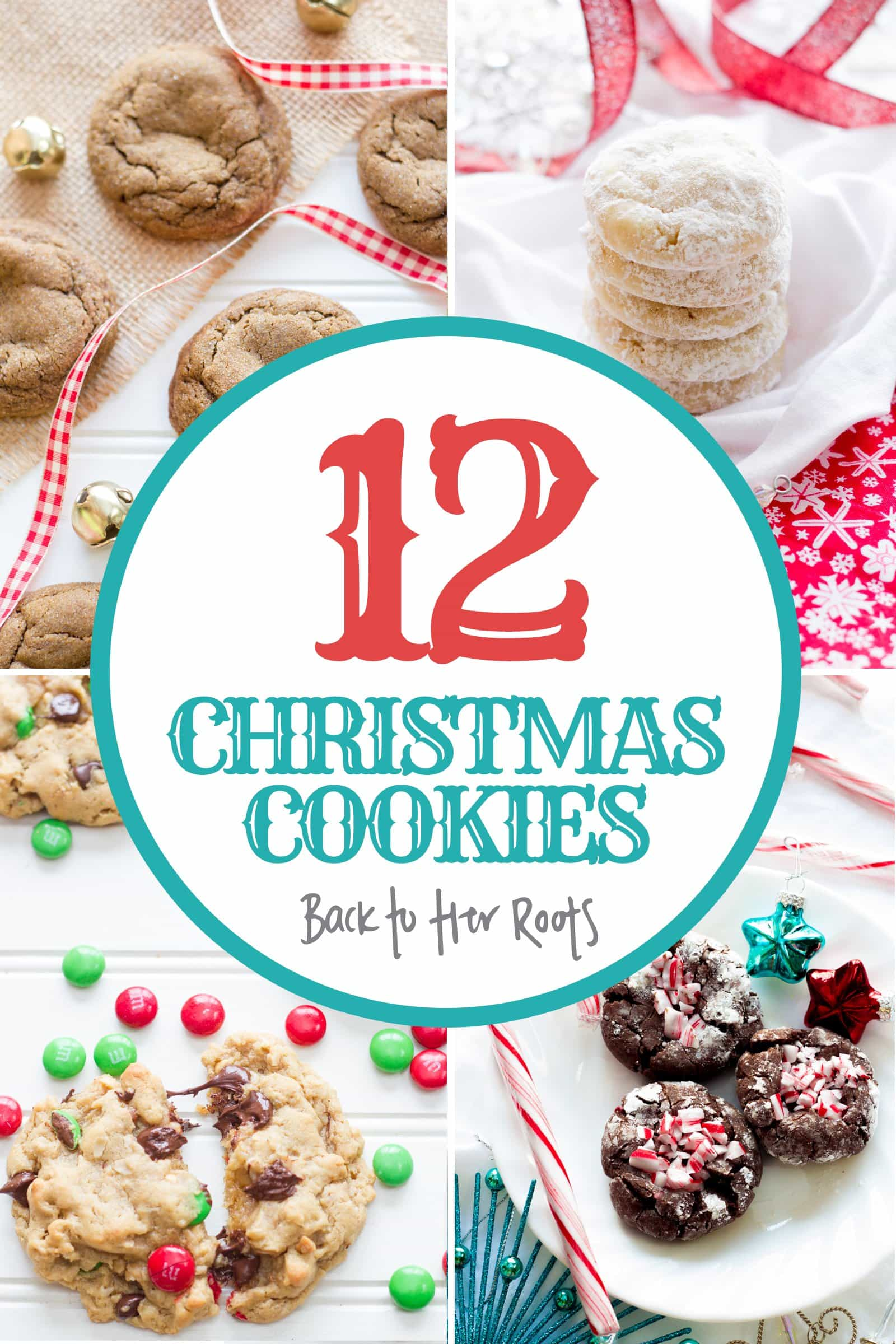 12 Christmas Cookie Recipes from Back to Her Roots