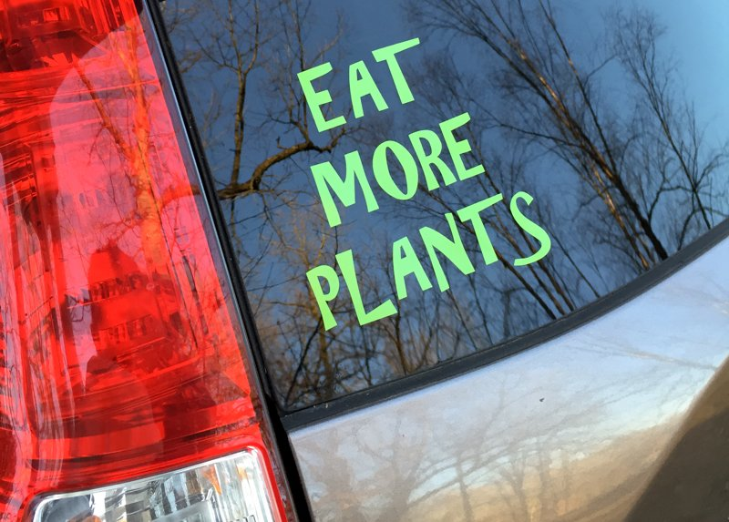 Car Eat More Plants