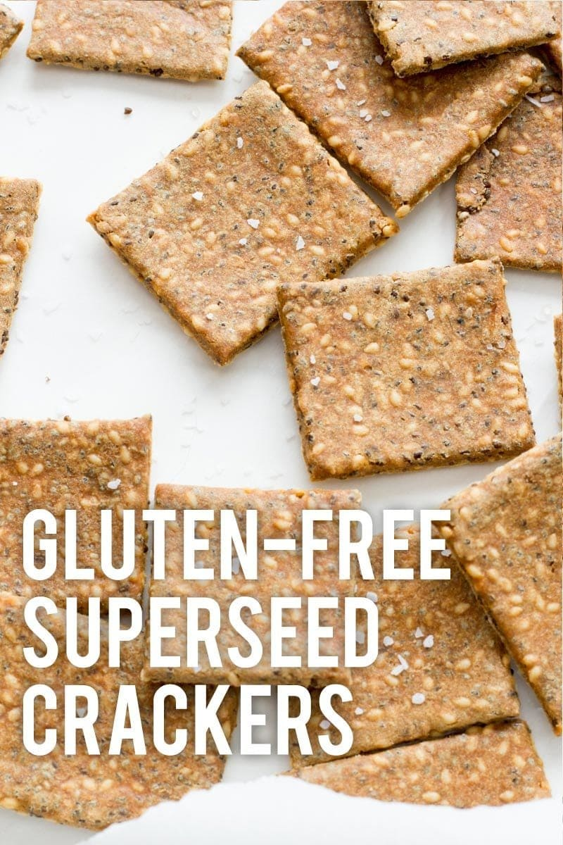 Gluten-Free Superseed Crackers