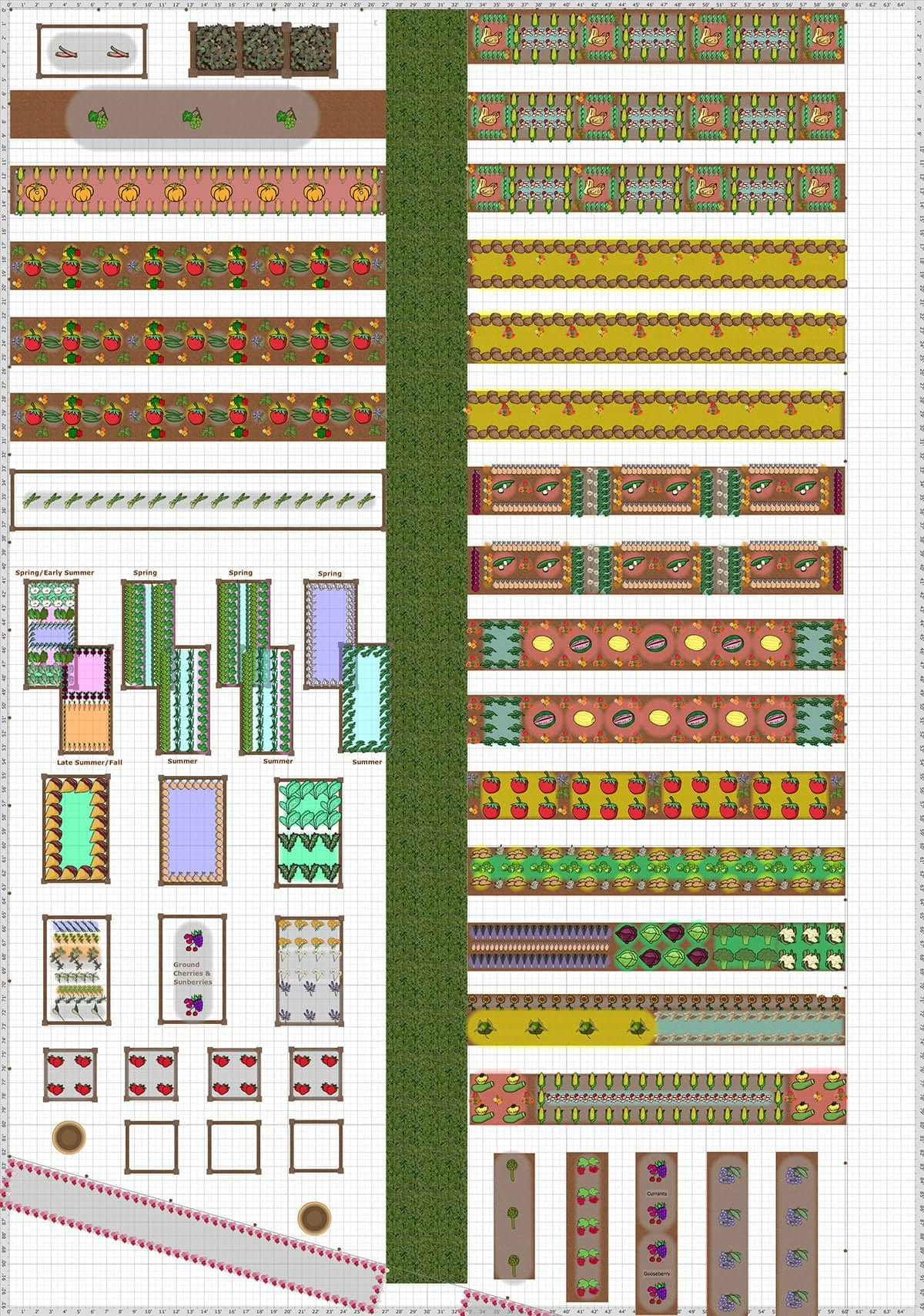 Our 2015 Garden Plan And How We Made It – Spring Garden Planning