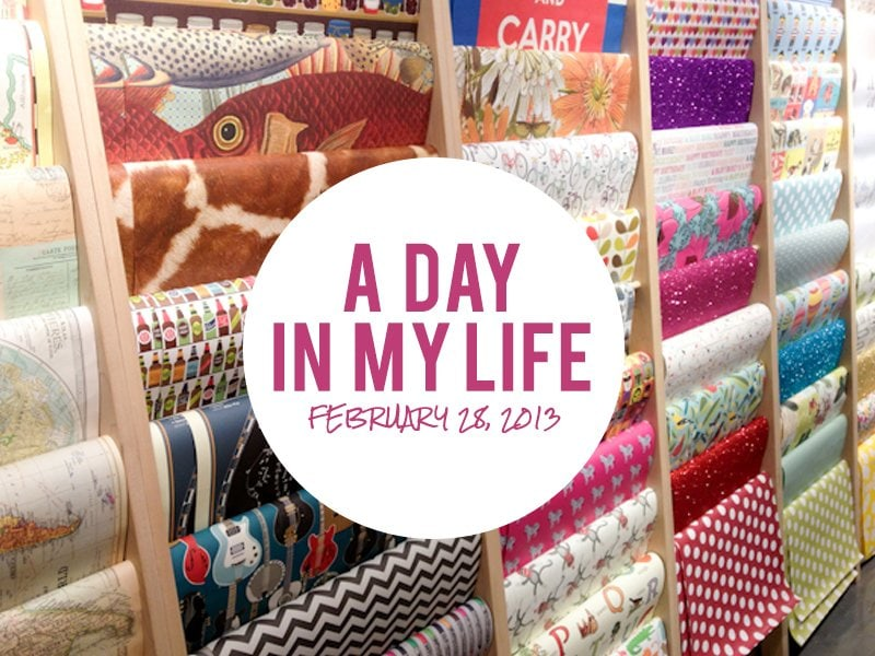 A Day in My Life
