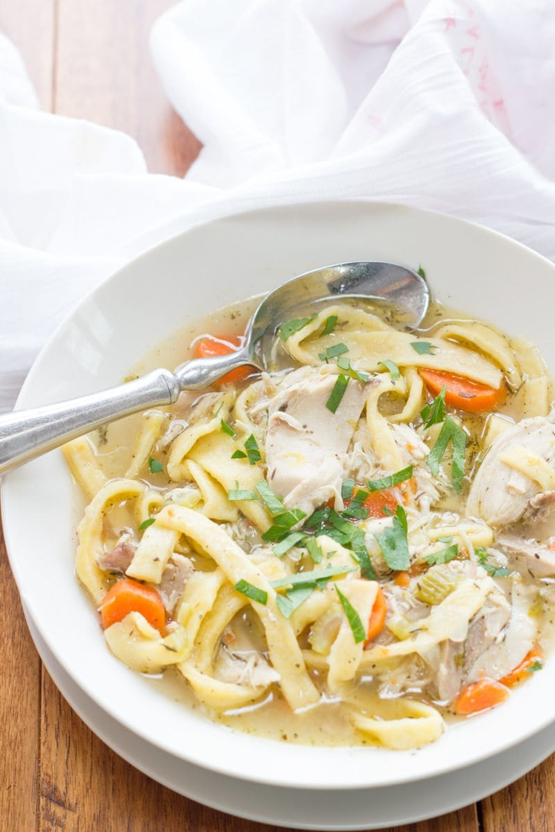 Chicken noodle soup from scratch wholefully chicken noodle soup from scratch forumfinder Image collections