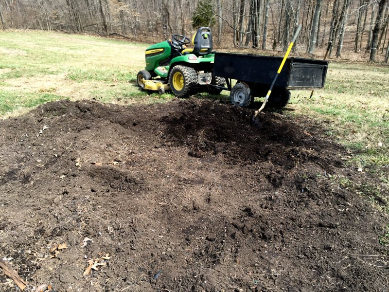 Tractor Compost