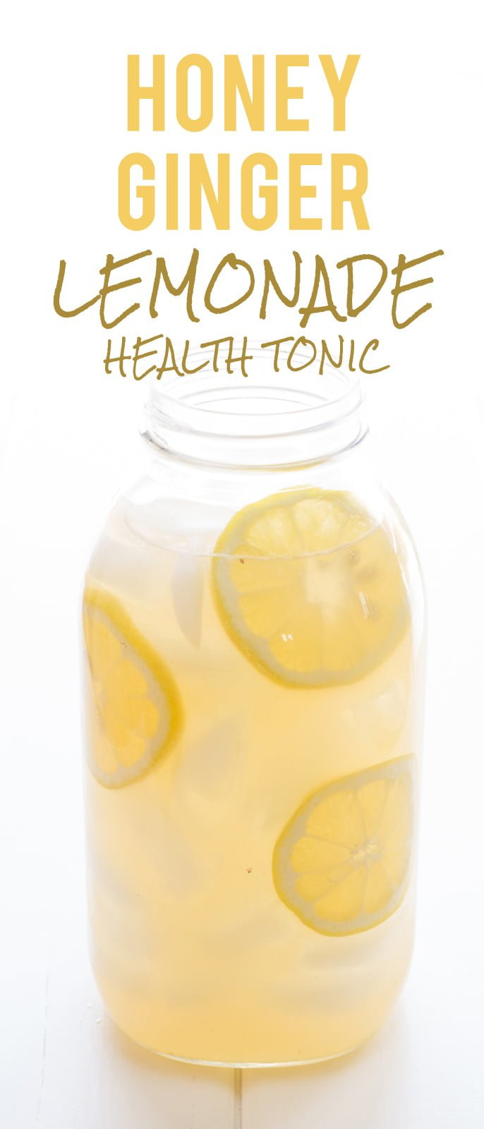 Honey Ginger Lemonade Health Tonic