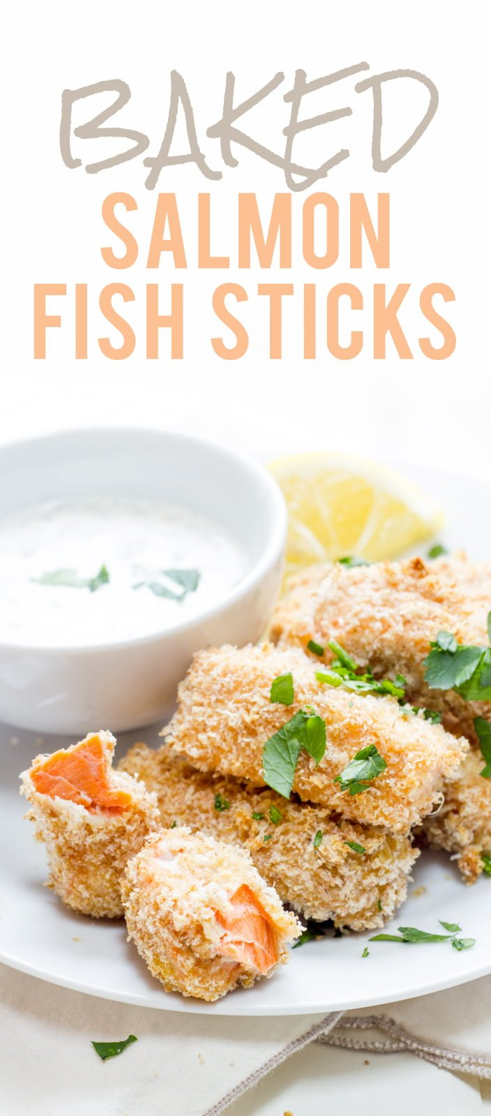 Baked salmon fish sticks wholefully for Salmon fish sticks