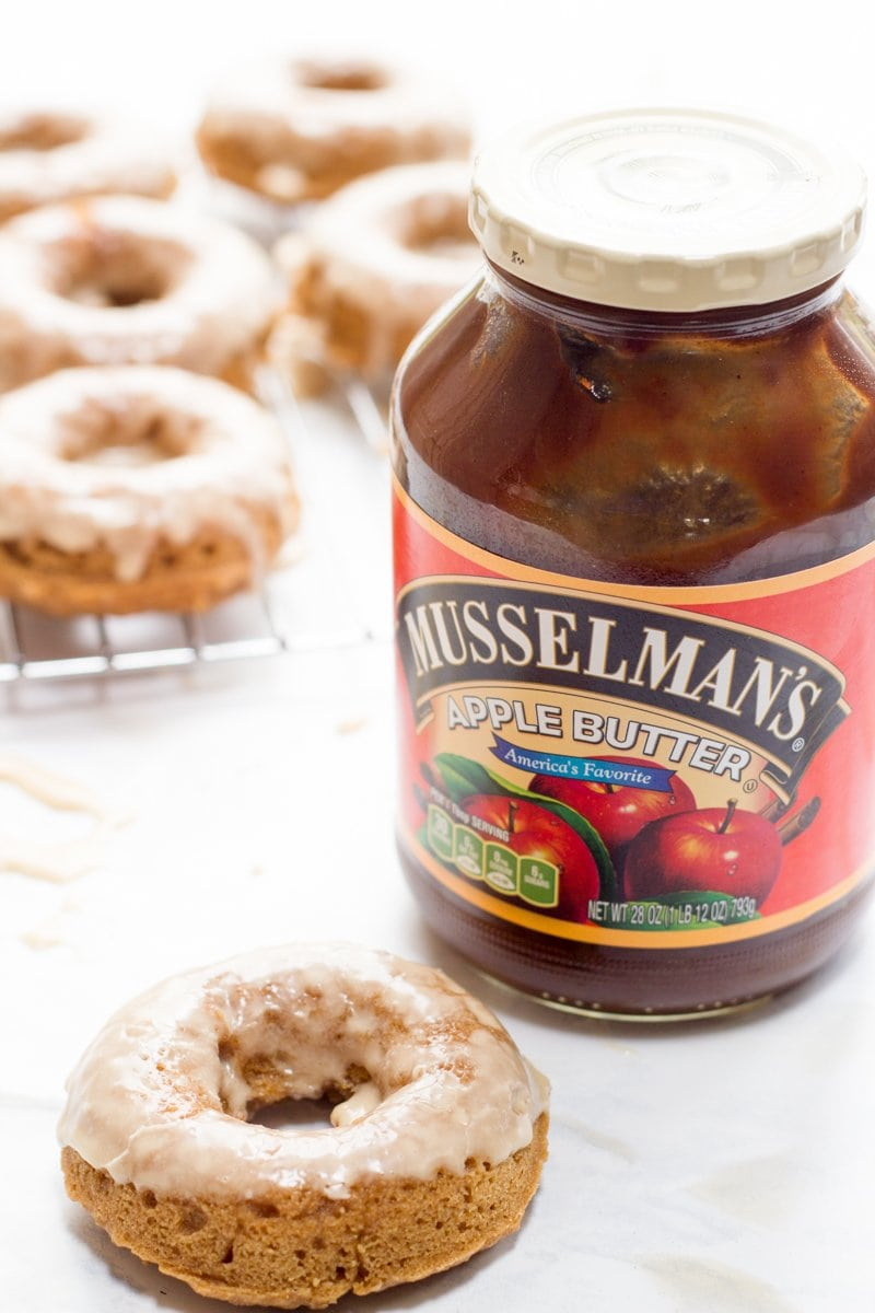 Apple Butter Donuts